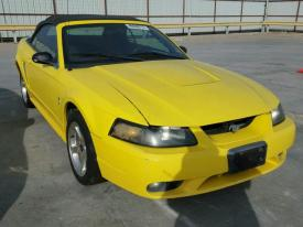 salvage ford mustang svt cobra cars  sale  auction